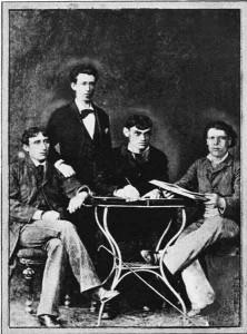 Первые галицкие артисты